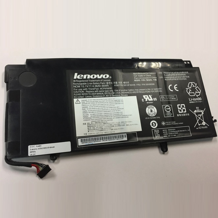 Batterie Pour Lenovo ThinkPad Yoga 15 20DQ